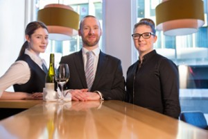 Study Hospitality Management at the restaurant